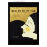 Vintage Speak to Me of Love 1930 Sheet Music Cover