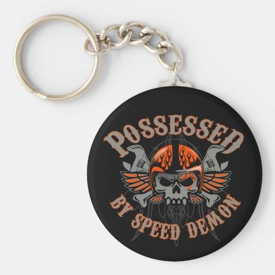 Vintage Speed Demon Keychain