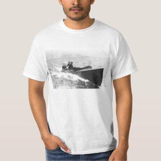 Vintage Speedboat on St. Clair River Racing T-Shirt