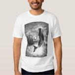Vintage Sperm Whale Breaching, Marine Life Animals T Shirt