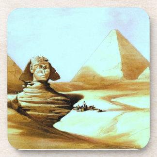 Vintage Sphinx Beverage Coaster