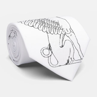 Vintage Sphinx illustration Tie