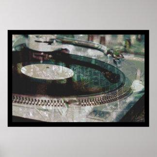 vintage spin g print