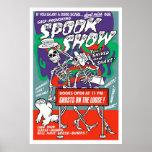Vintage Spook Show Poster
