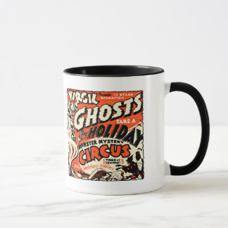 Vintage Spook Show Poster Art - Ghosts on Holiday! Mug