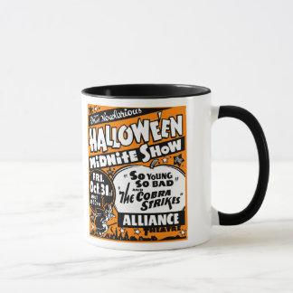 Vintage Spook Show Poster Art - Midnight Show! Mug