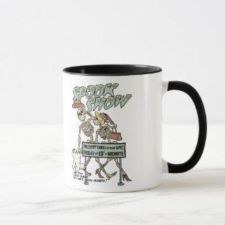 Vintage Spook Show Poster Mug