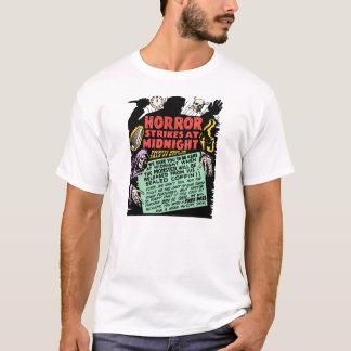 Vintage Spookshow - Horror Strikes At Midnight T-Shirt