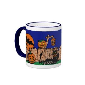 Vintage Spookville Halloween Mug mug