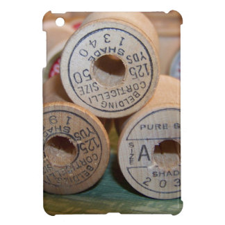 Vintage Spools of Thread Cover For The iPad Mini