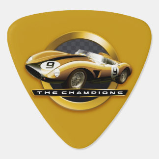 Vintage Sport Cars Guitar Pick
