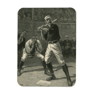 Vintage Sports, Antique Baseball Players Rectangle Magnet