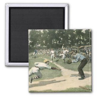 Vintage Sports, Baseball Game Magnets