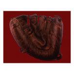Vintage Sports; Baseball Glove Invitation