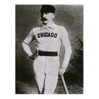 Vintage Sports Baseball Photo; Chicago Player Postcard