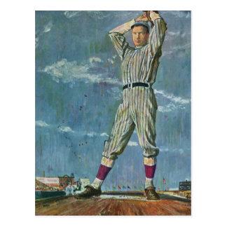 Vintage Sports, Baseball Player Pitcher Postcards