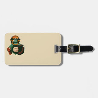 Vintage Sports, Baseball Player, the Catcher Tags For Bags