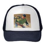 Vintage Sports, Baseball Player Umpire Trucker Hats