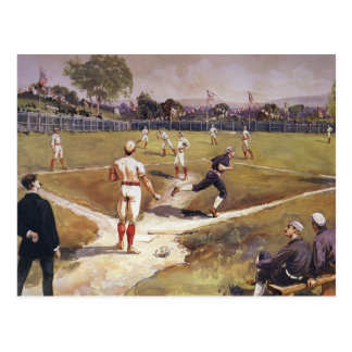Vintage Sports Baseball Players by Henry Sandham Postcards