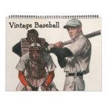 Vintage Sports Baseball Players, Teams, Athletes Calendar