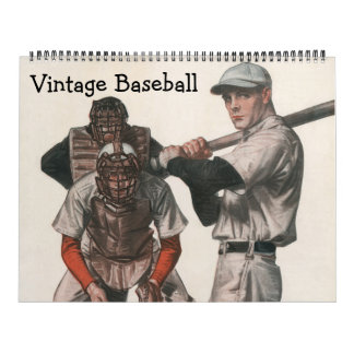 Vintage Sports Baseball Players, Teams, Athletes Calendar