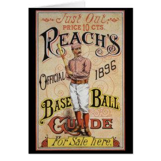 Vintage Sports Baseball, Reach's Guide Cover Art Card