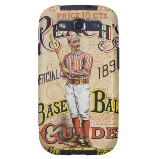 Vintage Sports Baseball, Reach's Guide Cover Art Samsung Galaxy SIII Cover