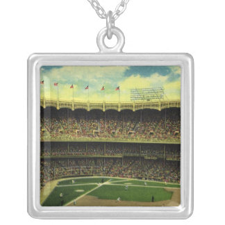 Vintage Sports, Baseball Stadium, Flags and Fans Pendants