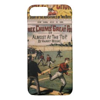 Vintage Sports Baseball Three Chums Magazine Cover