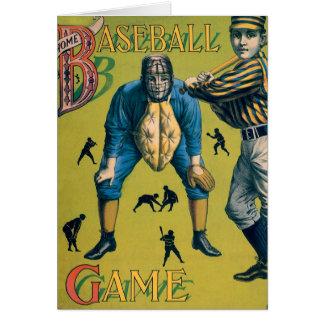 Vintage Sports Baseball, Victorian Players Card