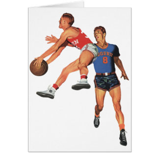 Vintage Sports, Basketball Players Card