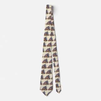 Vintage Sports, Basketball Players in a Game Neck Tie