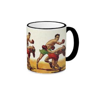 Vintage Sports, Boxers Boxing Fight Ringer Mug