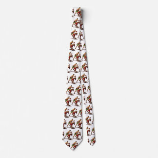 Vintage Sports, Boxers in a Boxing Fight Neck Tie