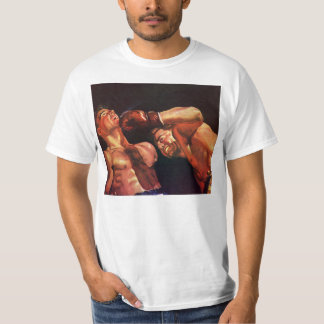 Vintage Sports, Boxers in a Boxing Match T-Shirt