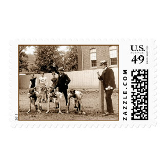 Vintage Sports Coaches. Postage Stamp