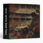 Vintage Sports Fans; Baseball Stadium Vinyl Binders