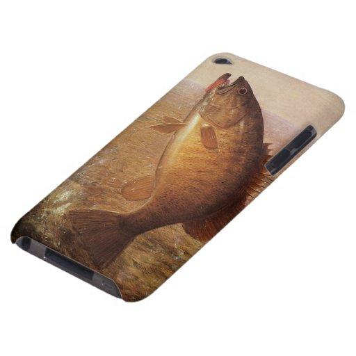 Vintage Sports Fishing, Largemouth Brown Bass Lake iPod Touch Case