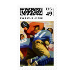 Vintage Sports, Football Player Stamps
