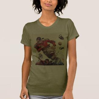 Vintage Sports, Football Player T-shirts