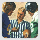 Vintage Sports, Football Ref Coin Toss Stickers