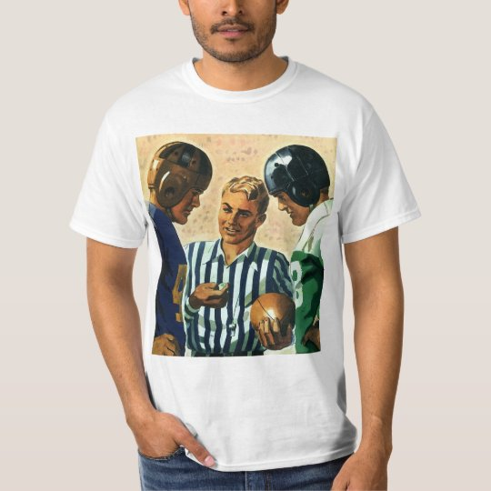 Vintage Sports, Football Referee Coin Toss T-Shirt