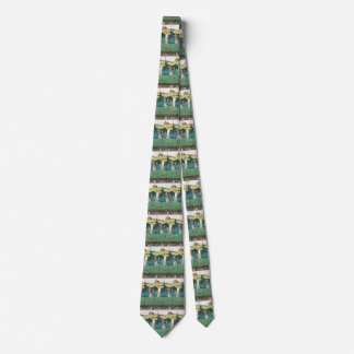 Vintage Sports Golf in Scotland, Golfers Golfing Neck Tie