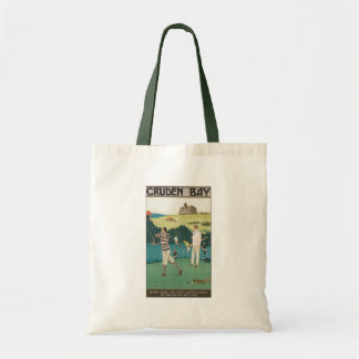 Vintage Sports Golf in Scotland, Golfers Golfing Tote Bag