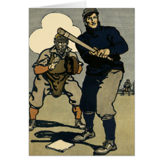 Vintage Sports, Stylized Baseball Players Game Cards