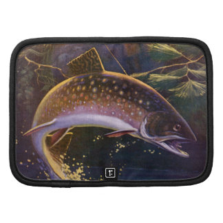 Vintage Sports Trout Fishing; Catch and Release Organizer