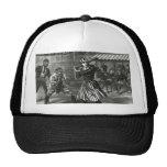 Vintage Sports, Victorian Women's Baseball Teams Mesh Hat