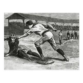 Vintage Sports, Victorian Women's Baseball Teams Postcard