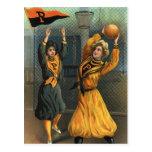 Vintage Sports, Women's Basketball Teams Postcard