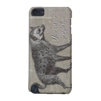 Vintage Spotted Hyena iPod Case